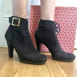 Tory Burch Melrose Ankle Leather Boots